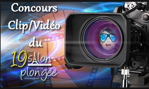 Participez au concours de clips vidéo organisé par le Salon de la plongée !