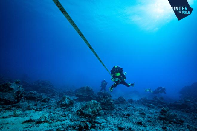 Le choix du site de l'expédition Under The Pole III.