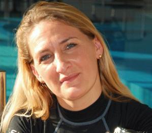 Hélène de Tayrac-Sénik, fondatrice du Salon de la plongée.