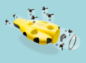 La caméra drone sous-marin iBubble en détails