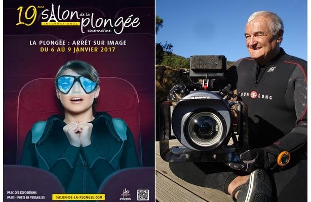 Le célèbre réalisateur Christian Pétron, parain de l'édition 2017 du Salon de la Plongée