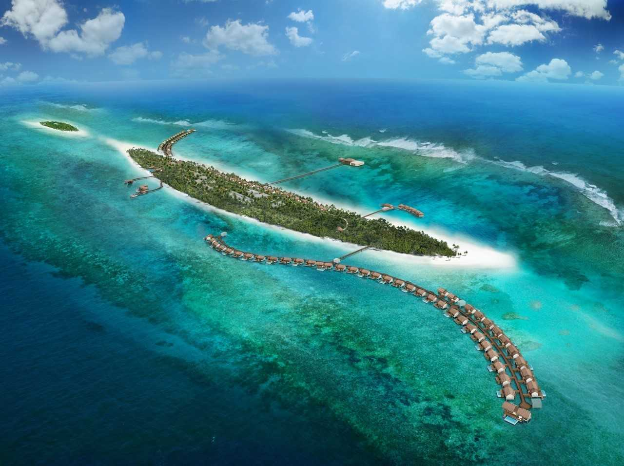 Meeru Island aux Maldives